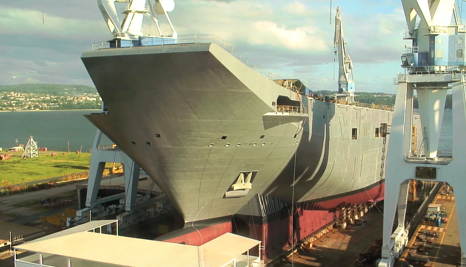 Seconds Steel Adelaide Defense Studies Navantia Launches The Second Amphibious