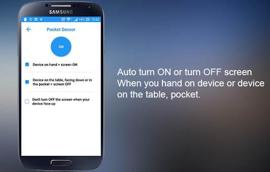 aplikasi smart screen on of, smart screen on of