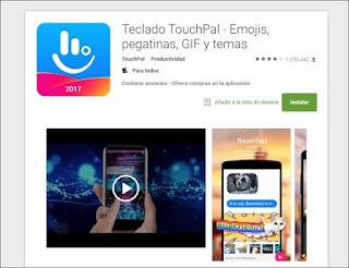 وداعًا تطبيق لوحة مفاتيح TouchPal الشهير ، غوغل تقرر حظره من غوغل بلاي و 60 تطبيقًا آخر لنفس الشركة لهذا السبب