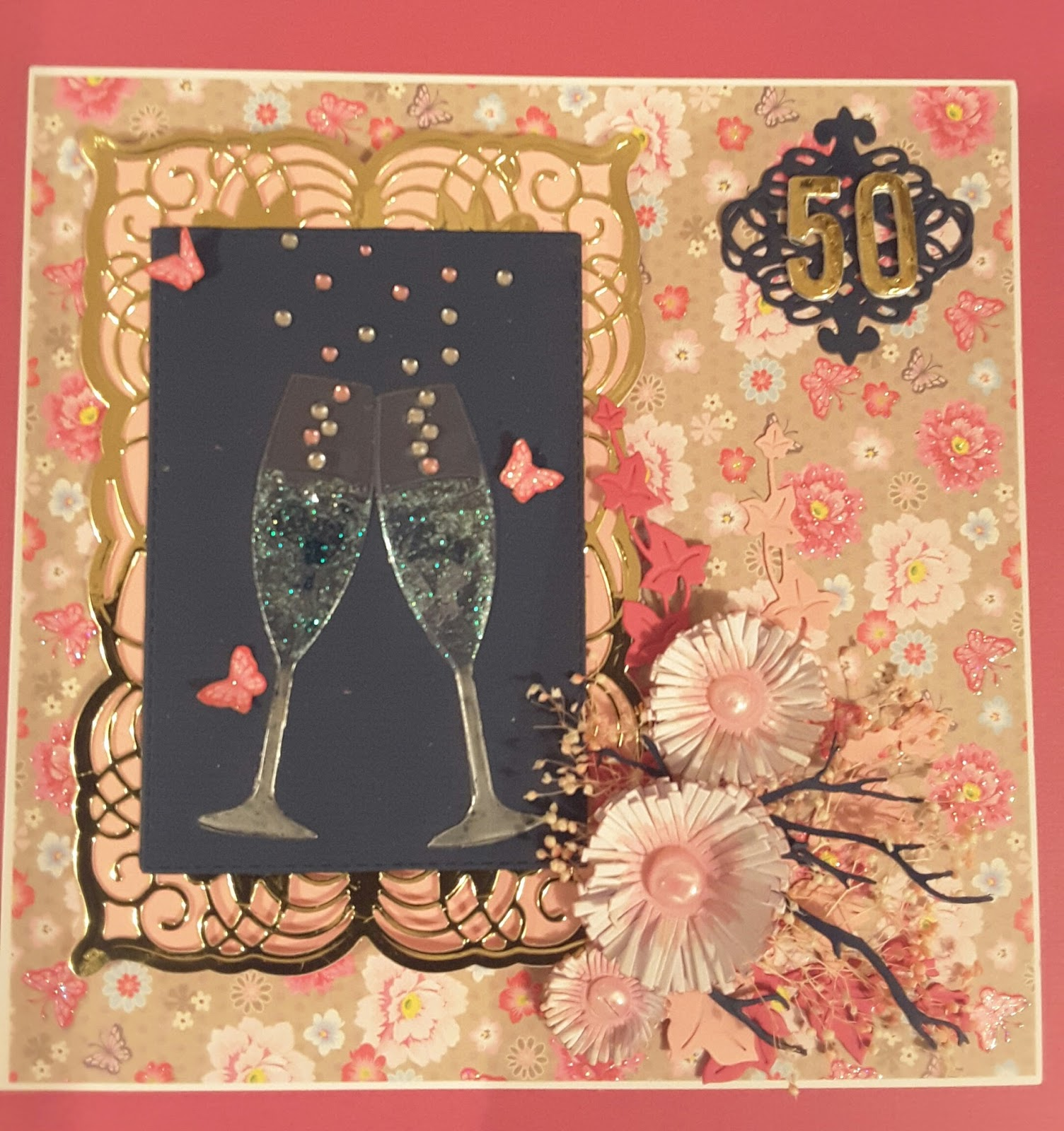Focus on Papercraft: A 50th birthday card