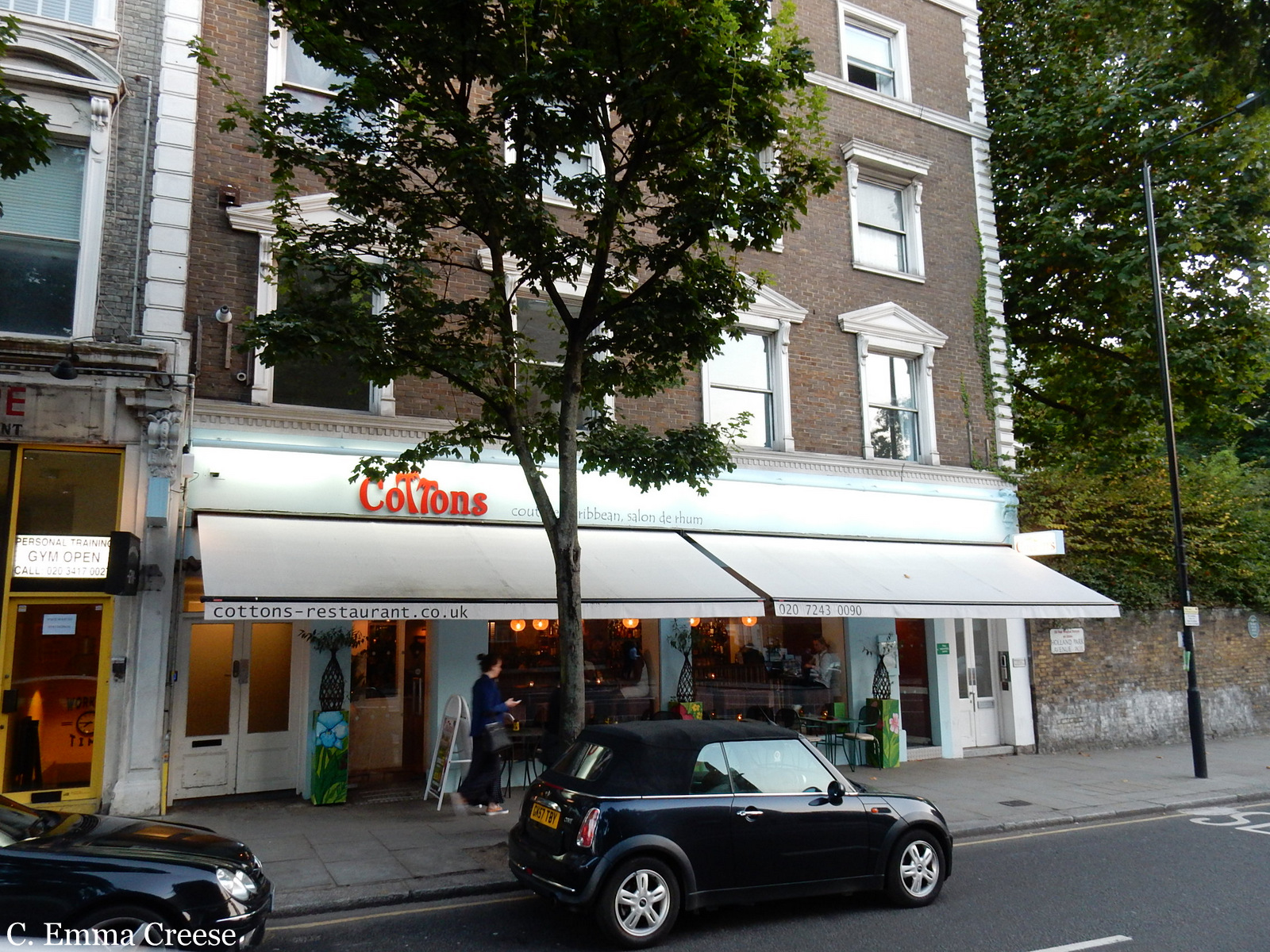 Cottons Caribbean Restaurant Review Nottinghill Adventures of a London Kiwi