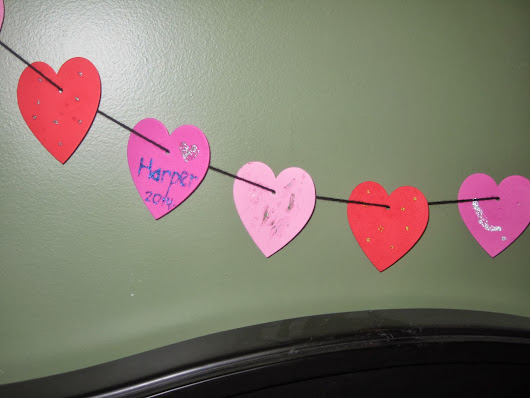 A Valentine's Day Garland