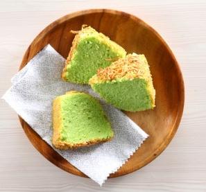 Resep Cake Pandan Keju
