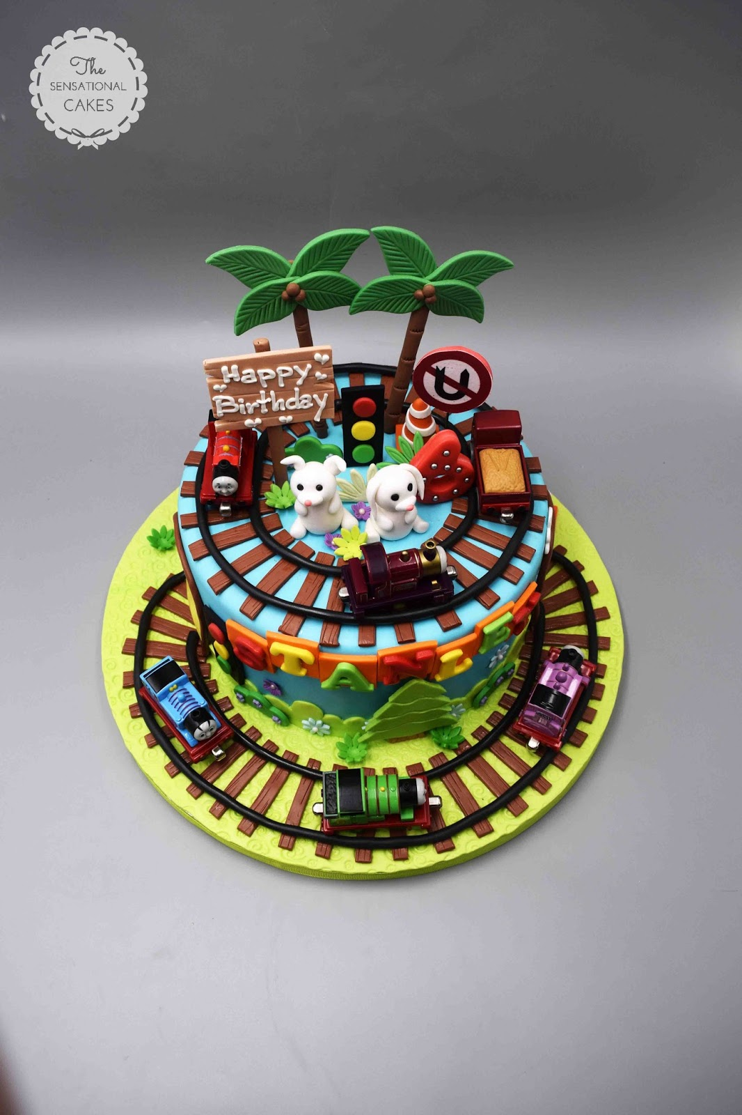 The Sensational Cakes Thomas And Friends Theme Boy Birthday 3d Cake