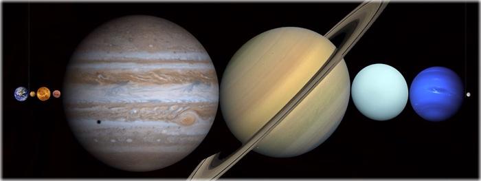 Todos os planetas cabem entre a Terra e a Lua