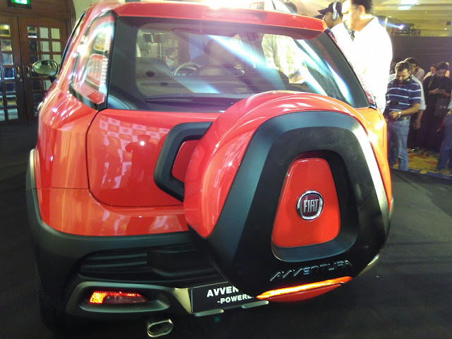Abarth Avventura India Launch Fiat
