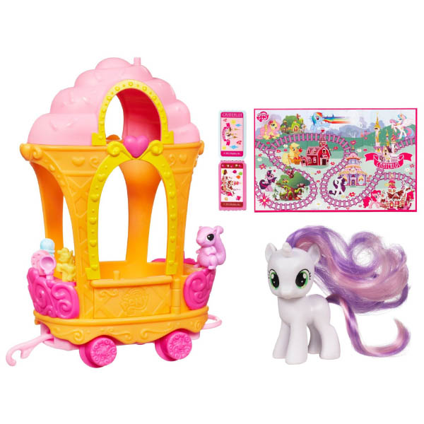 Original Series Pinkie Pie S Rc Car Brushables: MLP Sweetie Belle G4 Brushables