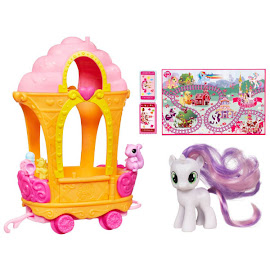 My Little Pony Ice Cream Train Car Sweetie Belle Brushable Pony