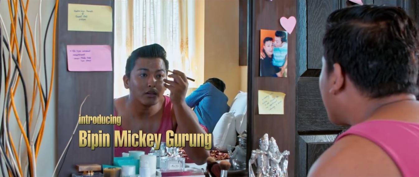 aadha love bipin mickey gurung