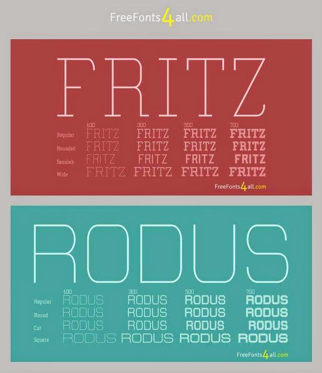Fritz & Rodus font