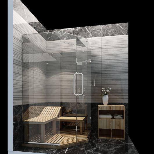 Thiết kế spa nhỏ trong nhà
