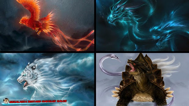 Empat Makhluk Mitologi yang Menguasai Arah Mata Angin
