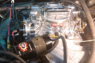 Tuning an Edelbrock 1406 for 1963 Chrysler 300 with 383 (2013, idle