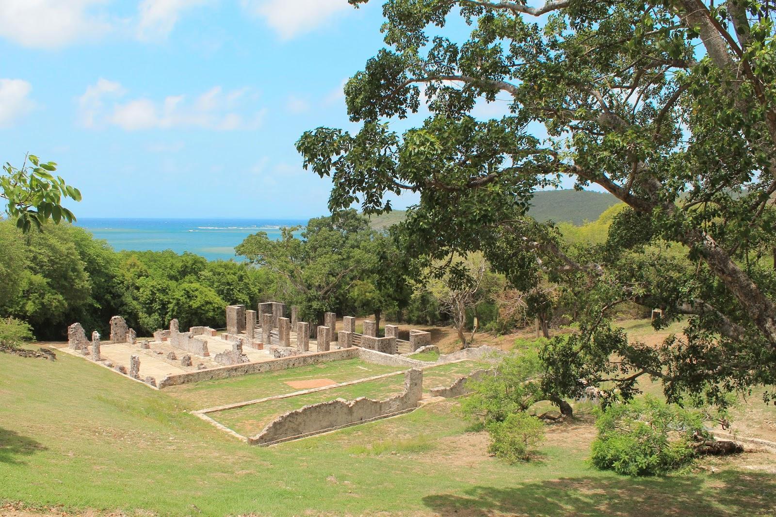martinique île presqu'île caravelle chateau dubuc soleil vacances 972
