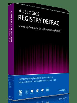 Auslogics Registry Defrag Box Imagen