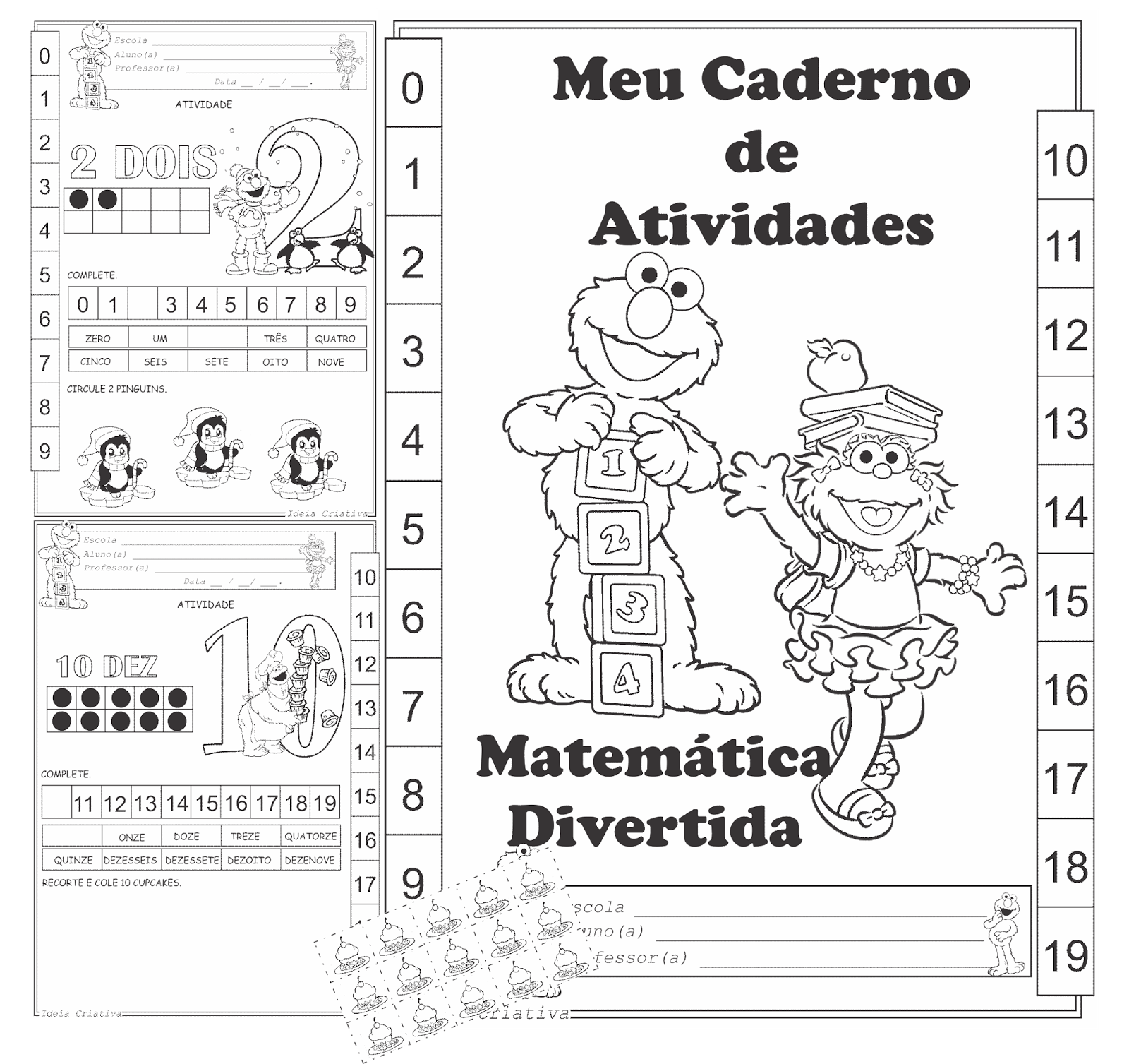 Caderno de Atividades Matemática Divertida
