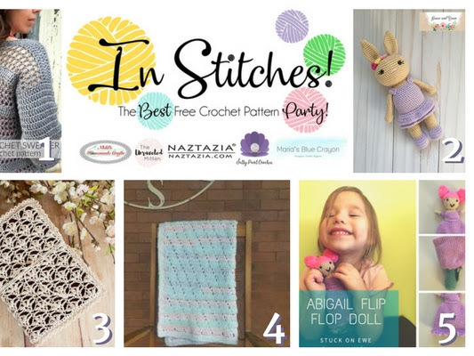 In Stitches - Best Free Crochet Pattern Link Up Party Week 8