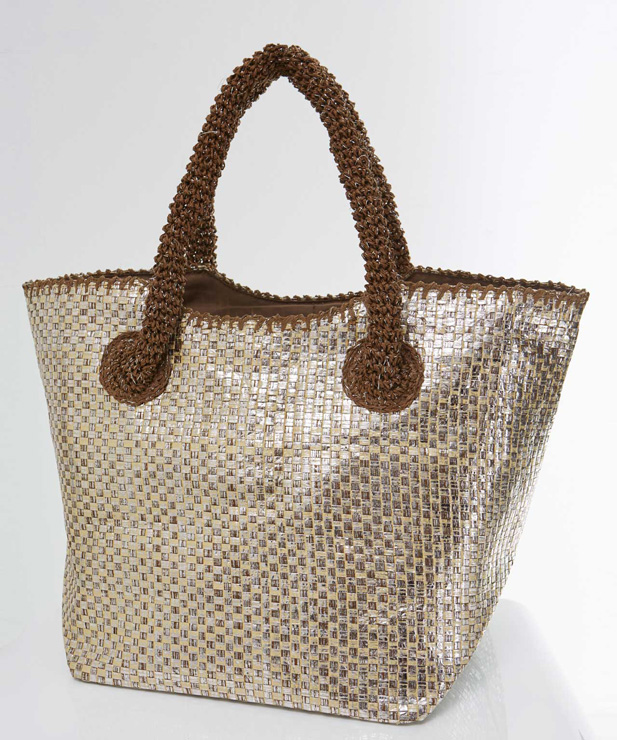 Damart Straw Strap Bag