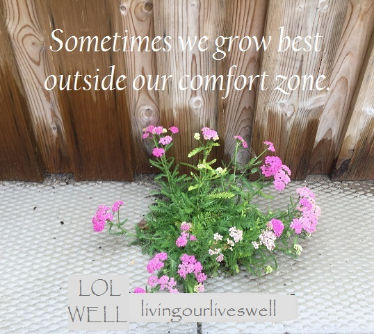 Benefits of stepping outside our comfort zone