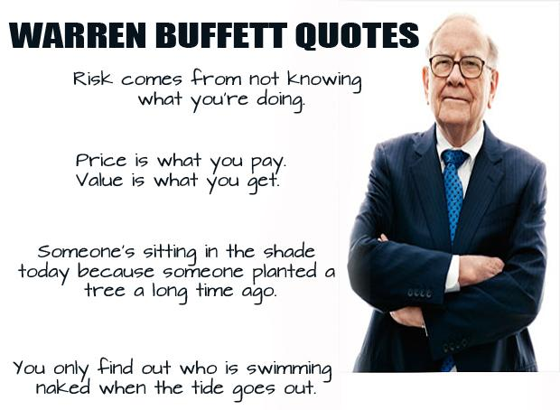 Life is so Sunny: Quotes By Warren Buffett