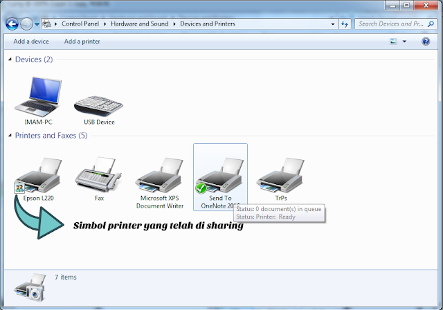 Sharing printer 5