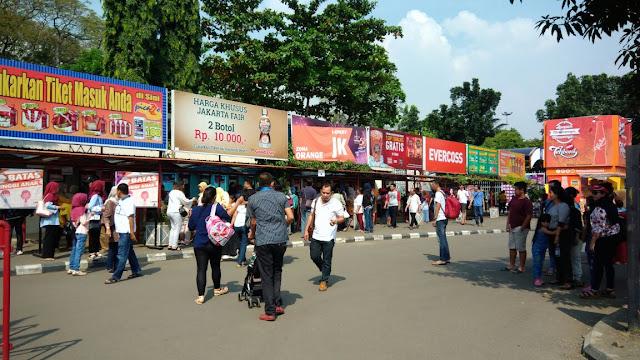 Pengalaman ke Pekan Raya Jakarta (PRJ) 2017