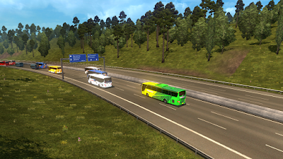 Download Mod Traffic Parahyangan v2 ETS2