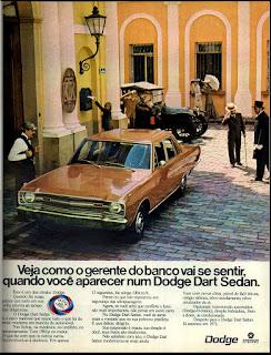 propaganda Dodge Dart Sedan - 1972, Dodge Dart 1972, chrysler anos 70, carro antigo chrysler, anos 70, década de 70, propaganda anos 70, Oswaldo Hernandez,