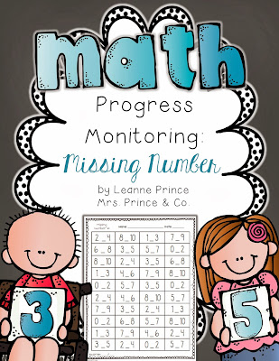 http://www.teacherspayteachers.com/Product/Missing-Number-Fluency-Practice-Pages-995951