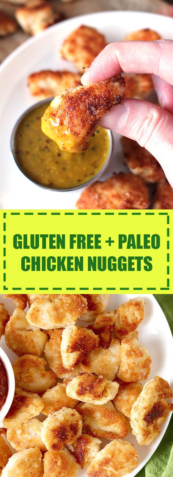 Gluten Free + Paleo Chicken Nuggets