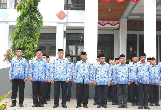 Sekda Irup Upacara Peringatan, HUT Ke 72 Kemerdekaan RI, Lingkup, Pemkab Kep. Selayar