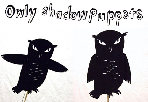 free shadow puppet templates - my owl barn shadow puppets