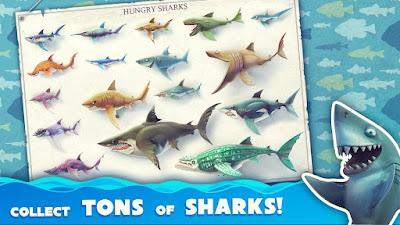 Hungry Shark World MOD APK+DATA Unlimited Money v1.3.0 Update