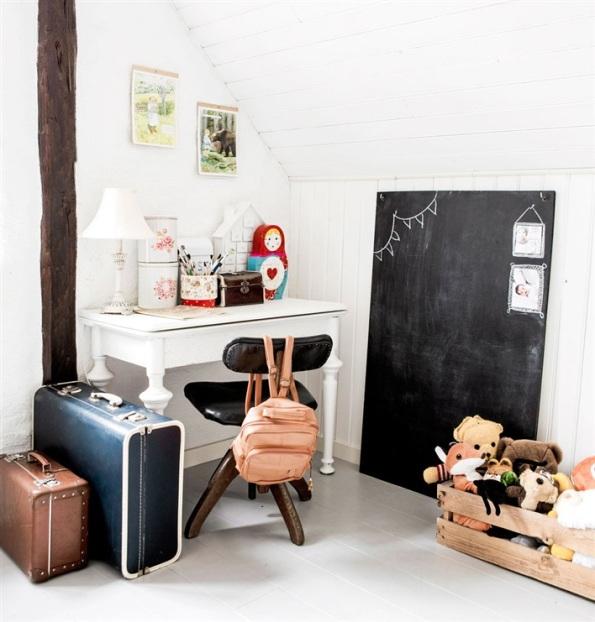 habitación infantil decorada al más puro estilo escandinavo chicanddeco