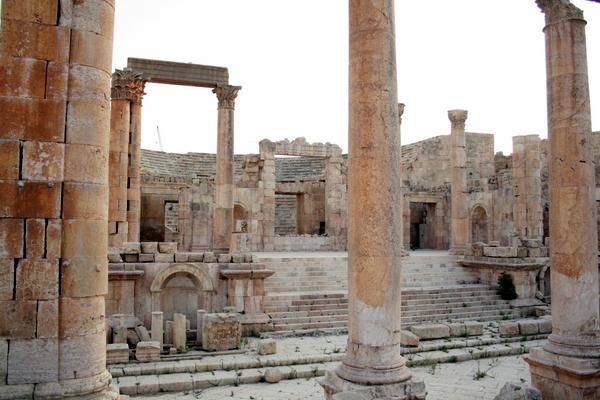 Catedral (Jerash, Jordania)