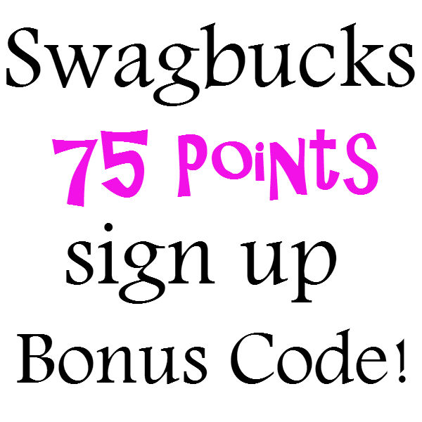 Free Swagbucks Sign up Code Bonus 75 Points Swagbuck.com Promo Code