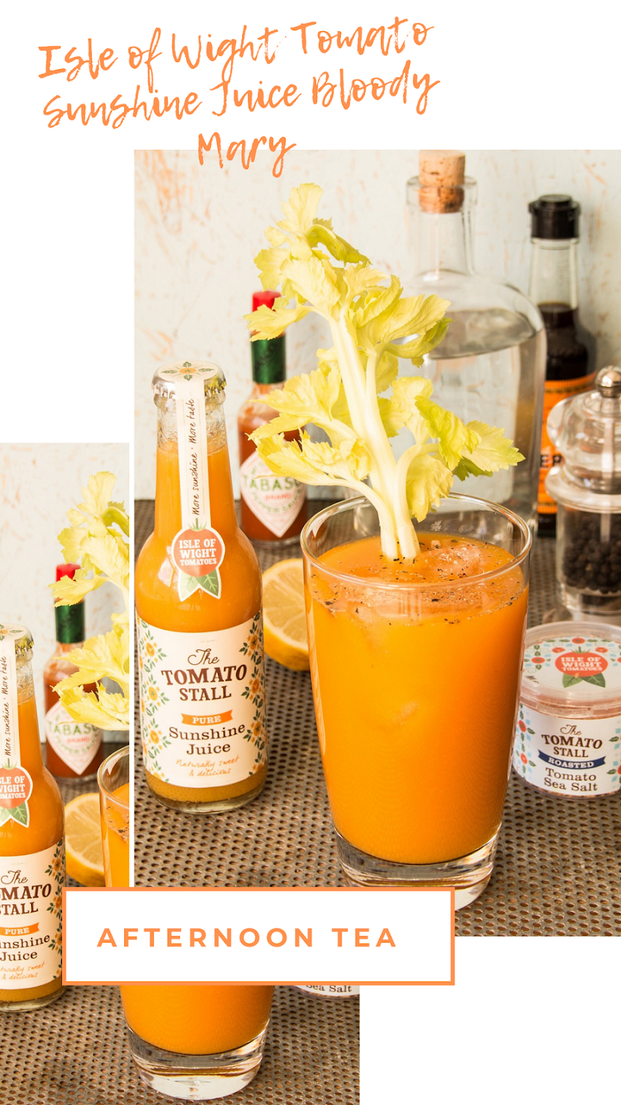 Isle of Wight Tomato Sunshine Juice Bloody Mary