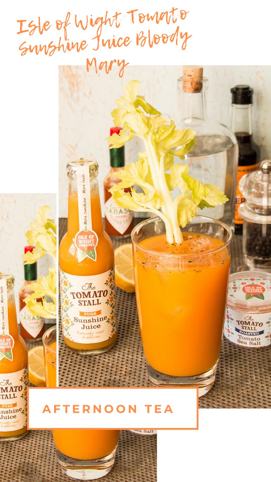 Isle of Wight Tomato Sunshine Juice Bloody Mary