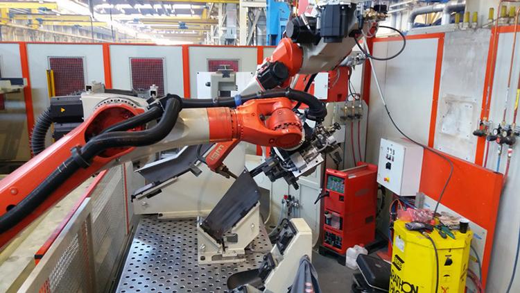 Роботизация сборки и сварки металлических конструкций