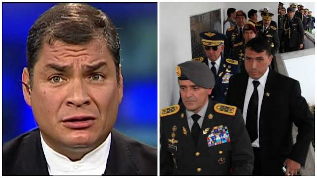 Editorial sobre Rafael Correa