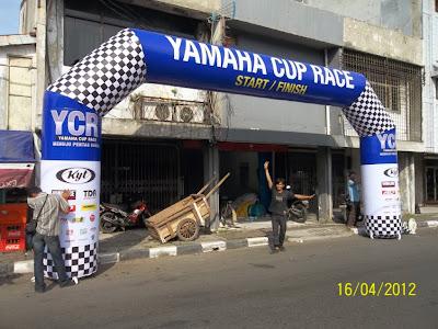 Balon Gate Yamaha