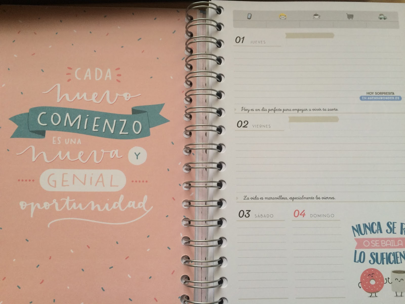 Mi Peque O Rinc N ~ Comprar Agenda Mr Wonderful El Corte Ingles