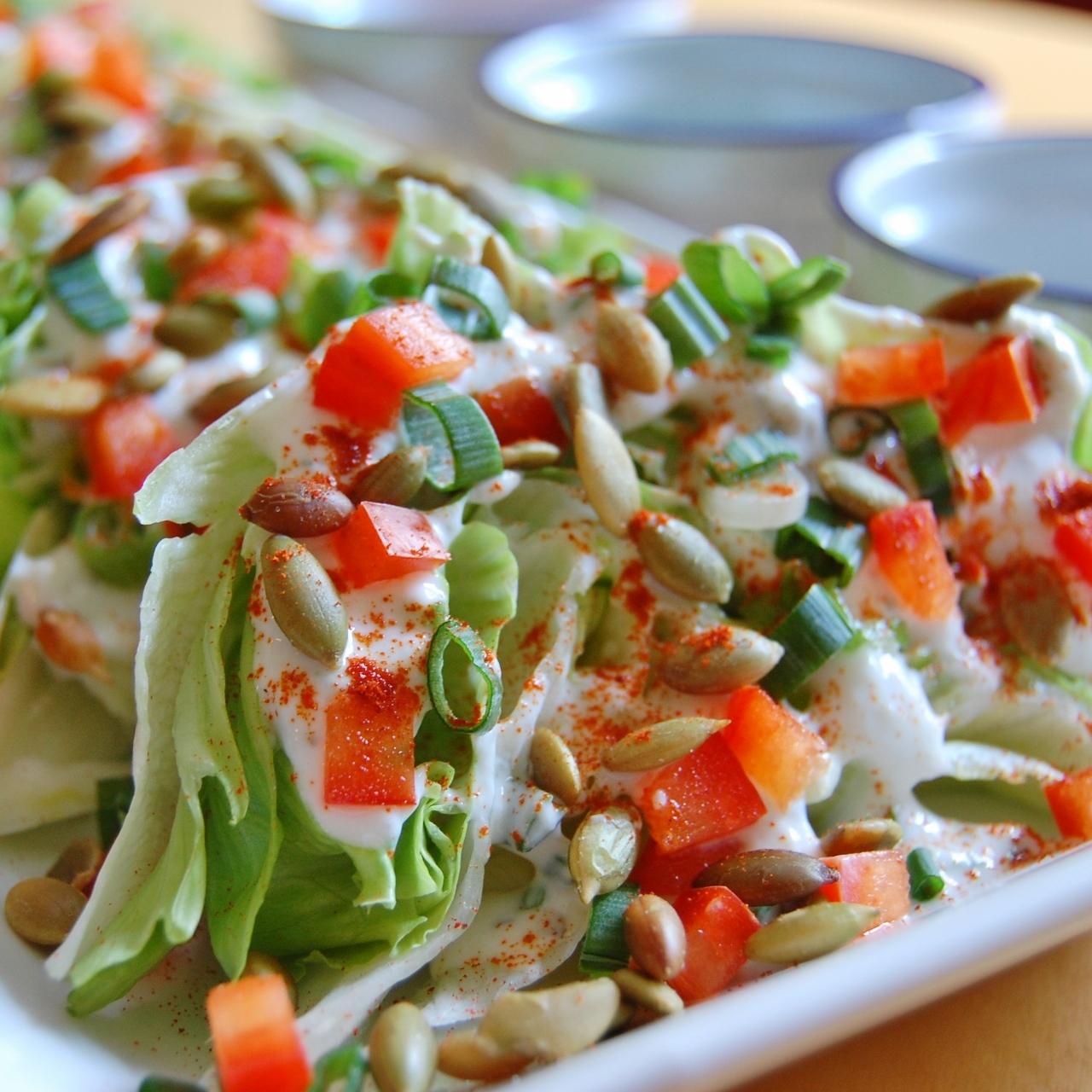 Iceberg Wedge Salad wi...