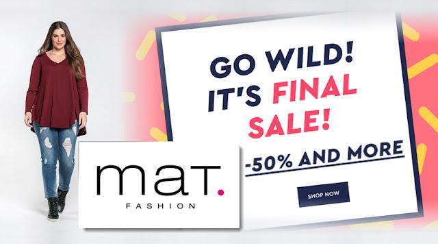 Μεγάλα νούμερα και εκπτώσεις - Mat Fashion