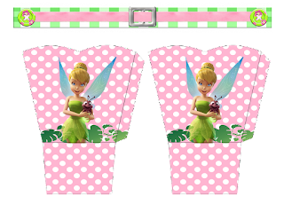 Tinker Bell  Free Printable Box.
