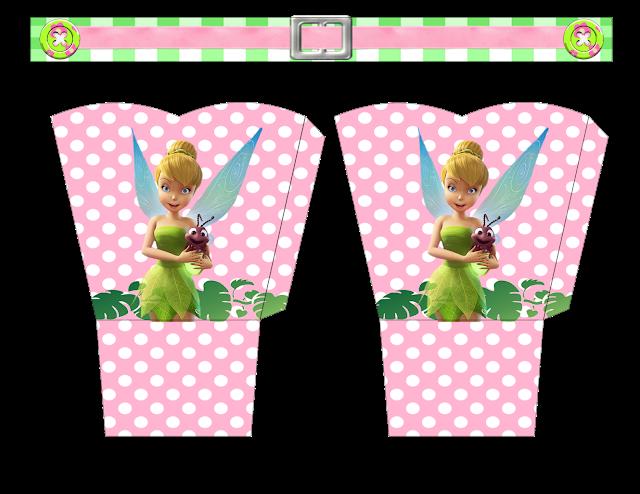 Cajas de Tinker Bell para imprimir gratis.