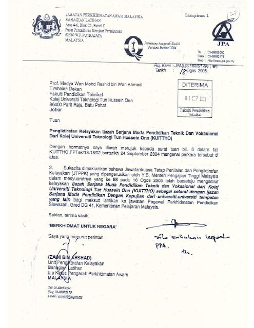 Contoh Surat Rasmi Mohon Tuntutan Insurans - Hontoh
