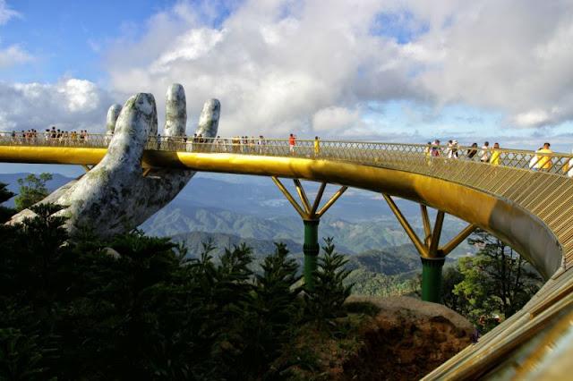 The New 'Golden Bridge' In Vietnam Is Hands-Down