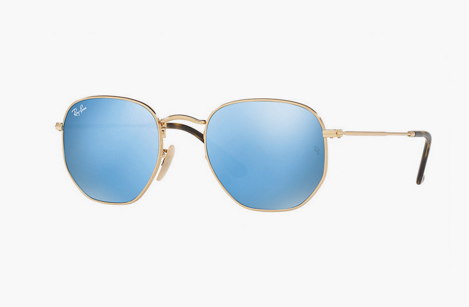 ray ban new shape round sunglasses  ray ban flat hexagonal, oval and round lenses.