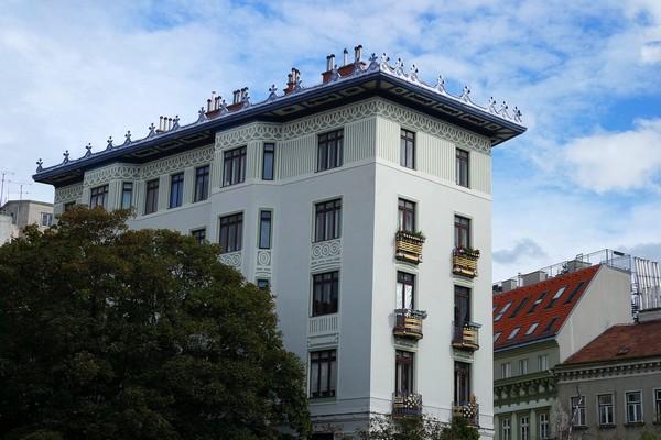 vienne art nouveau jugendstil sécession cafe rudigerhof